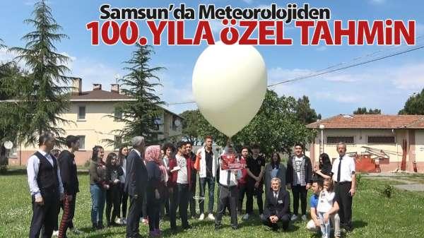 Samsun'da meteorolojiden 100.yıl tahmini