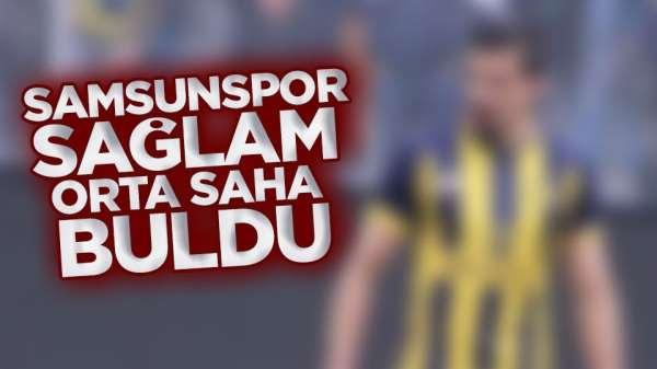 Samsunspor orta saha oyuncusu buldu