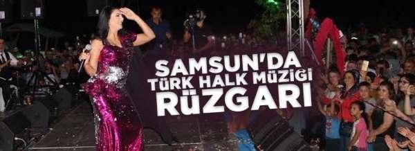 Samsun'da Türk Halk müziği rüzgarı