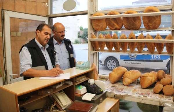 Bafra Belediyesi zabıta ekipleri denetimlerini sürdürüyor