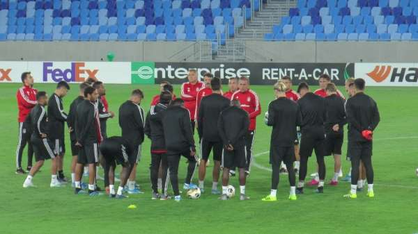 Beşiktaş, Bratislava maçına hazır