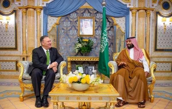 Pompeo ve Veliaht Prens Selman 'Aramco' saldırısını görüştü