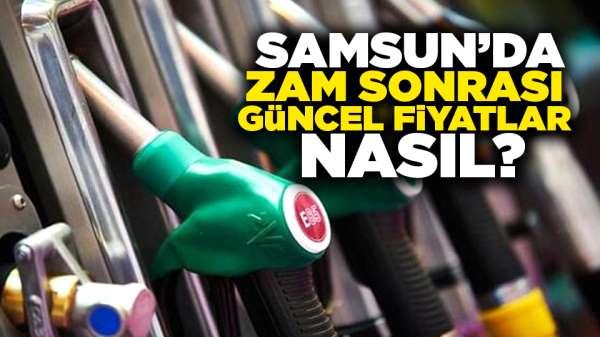 Samsun'da zam sonrası güncel fiyatlar nasıl