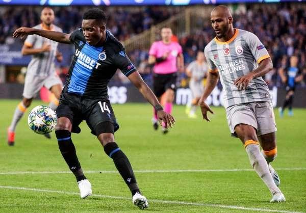 UEFA Şampiyonlar Ligi: Club Brugge: 0 - Galatasaray: 0 Maç sonucu