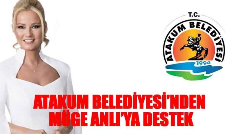 Samsun Atakum Belediyesi'nden Müge Anlı'ya destek