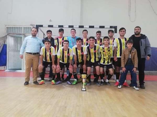 Futsalda birinciler belli oldu