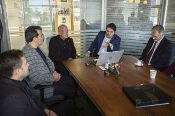 Milletvekili Aydemir Atatürk Üniversitesinde incelemelerde bulundu