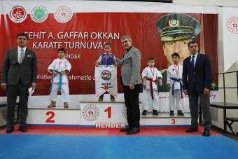 Şehit Emniyet Müdürü Okkan anısına Karate Turnuvası gerçekleştirildi