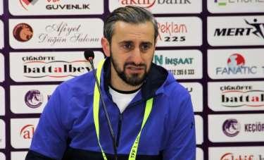 Serkan Özbalta: 'Yola devam edeceğiz'