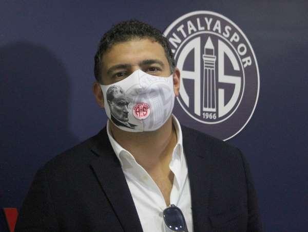 Antalyaspor'da Başkan Ali Şafak Öztürk istifa etti