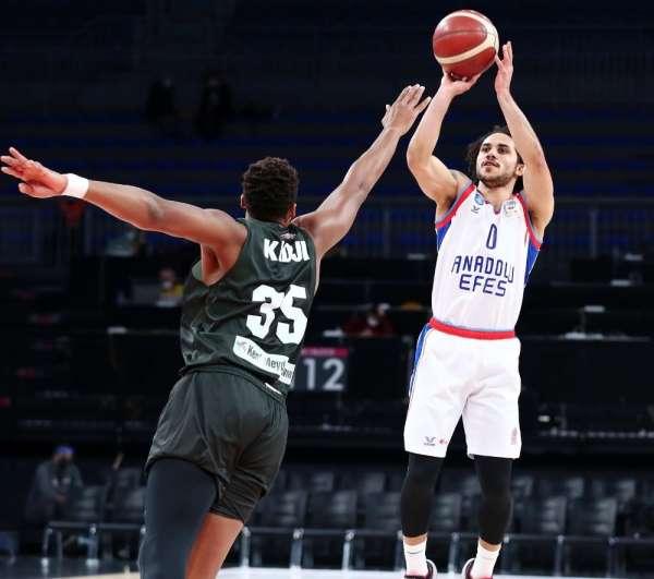 Basketbol Süper Ligi: Anadolu Efes: 91 - Bursaspor: 58