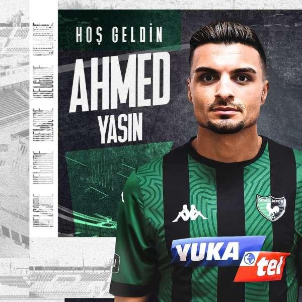 Denizlispor Ahmed Yasin ile sözleşme imzaladı