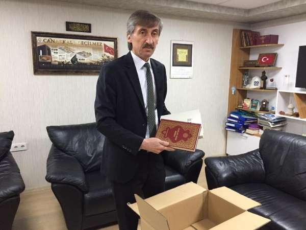 İncil gönderilen Müslüman gence, Kur'an-ı Kerim hediyesi