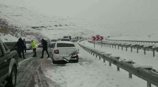 Mardin'de zincirleme trafik kazası