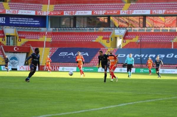 Süper Lig: Kayserispor: 0 - M.Başakşehir: 0 (Maç devam ediyor)