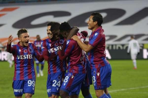 Süper Lig: Trabzonspor: 3 - Konyaspor: 1 Maç sonucu