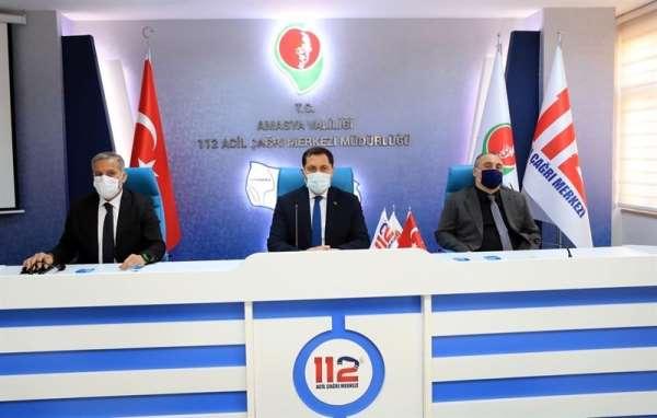 Vali Masatlı: 'Amasya'mız için öngörülen hedefleri gerçekleştirmek için çalışmakla mükellefiz'