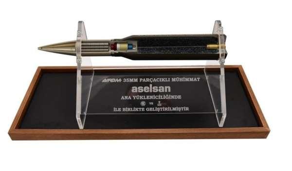 ASELSAN'ın ürettiği 'ATOM 35 mm parçacıklı mühimmat' sayısı 100 bine ulaştı