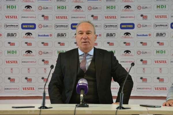 Cengiz Seçsev: '34 haftadır kazanamamaya bugün son vermek bizi onurlandırdı'