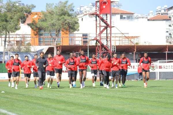 Hatayspor, BB Erzurumspor'a hazırlanıyor