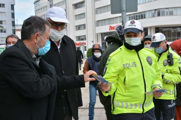 Polisten vatandaşa bilgilendirme