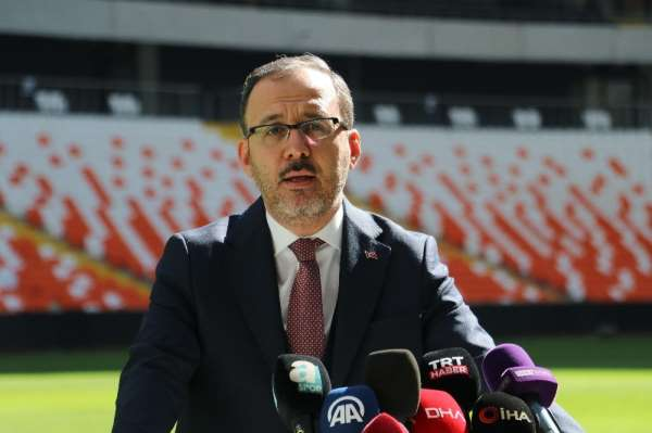 Yeni Adana Stadyumu'nun ismi açılışta açıklanacak