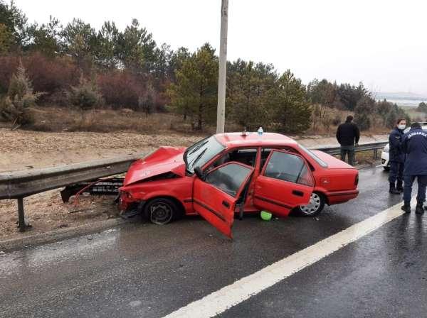 Ankarada zincirleme trafik kazası: 5 yaralı