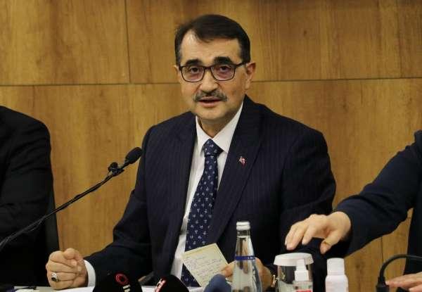 Bakan Dönmezden doğalgaz kullanmayan vatandaşlara çağrı: