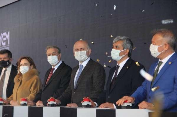 Bakan Karaismailoğlu, Mersin Limanı Genişleme Projesinin temelini attı (1)