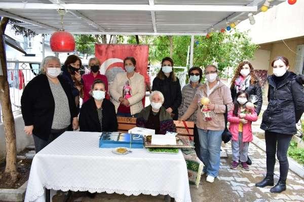 Başkan Çalkayadan şehit ailelerine ziyaret