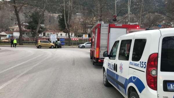 Bilecikte trafik kazası: 1 yaralı