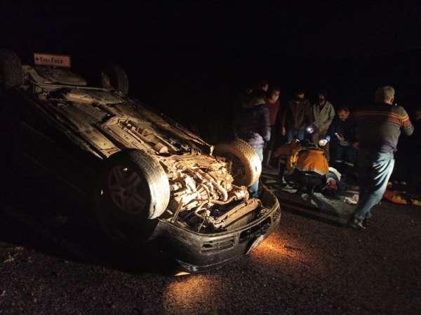 Foçanın eski Belediye Başkanı Gökhan Demirağ trafik kazası geçirdi