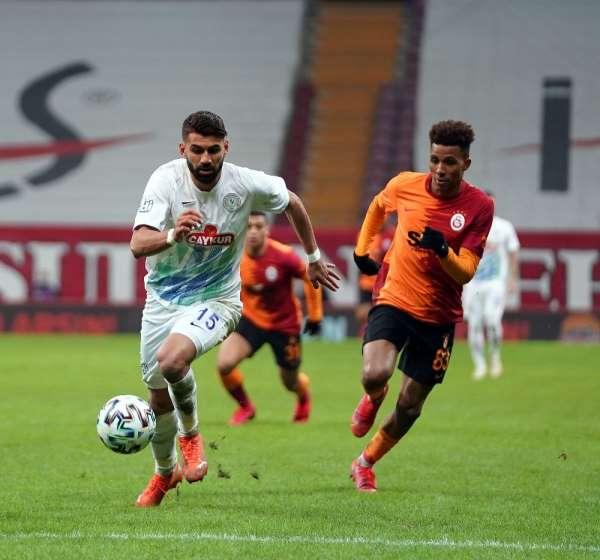 Galatasaray 17 yıl sonra evinde Rizespora yenildi