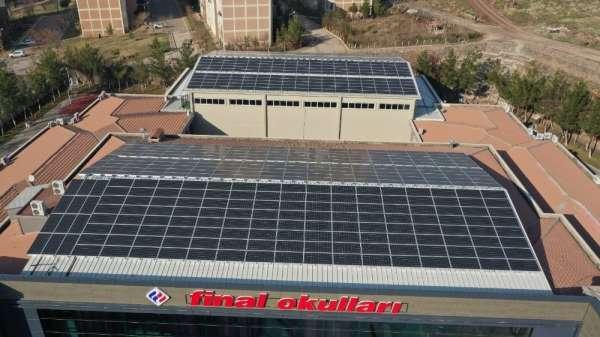 Güneydoğu Anadoluda ilk defa bir okul kendi elektriğini üretiyor