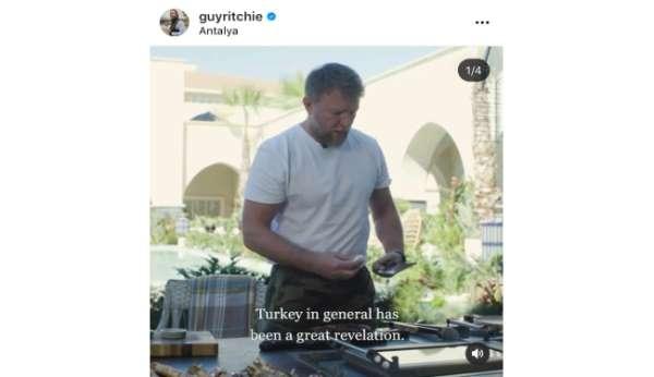 Jason Statham ve ünlü yönetmenden Türkiye paylaşımı