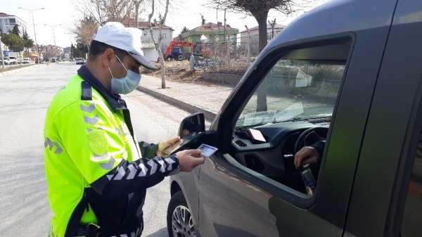 Merzifonda 281 sürücüye 130 bin TL ceza