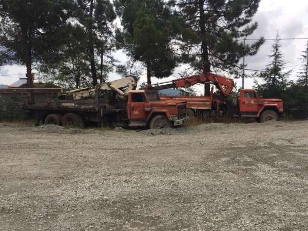 Orduda hurda araçlar toplanıyor