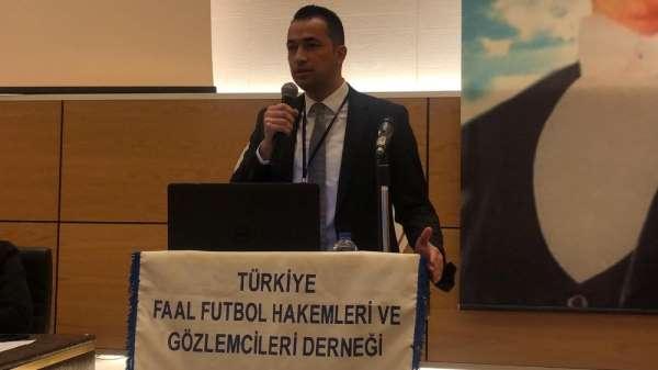 TFFHGD Kayseri Şubesi yeni başkanı Necati Selçuk Şahin oldu