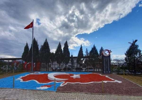 Turgutluya şehitlik anıtı yapıldı