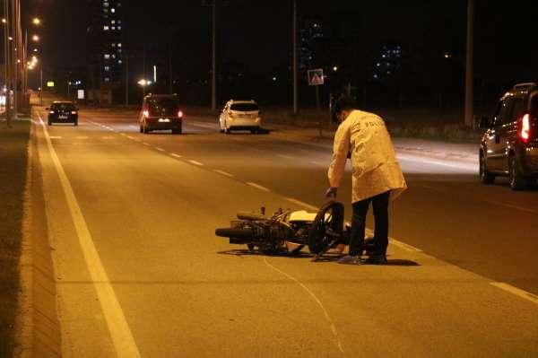18 yaşındaki motosiklet sürücüsü kazada hayatını kaybetti