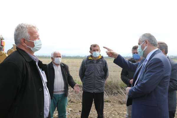 Başkan Kılıç: Beton santrali Bafra için ciddi bir kazanım olacak
