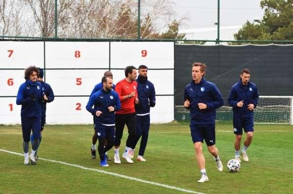 BB Erzurumsporda Yeni Malatyaspor maçı hazırlıkları