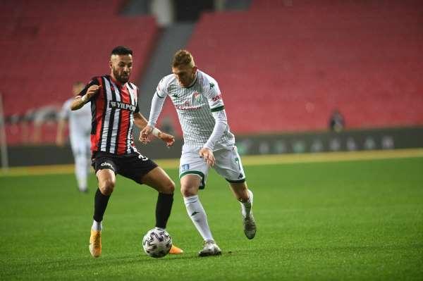 Bursasporun Play-Off şansı matematiksel olarak sona erdi