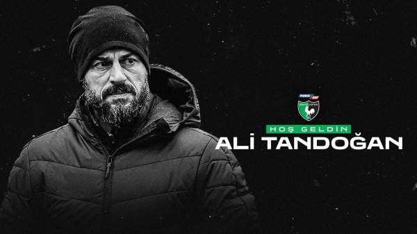 Denizlisporun yeni teknik direktörü Ali Tandoğan oldu