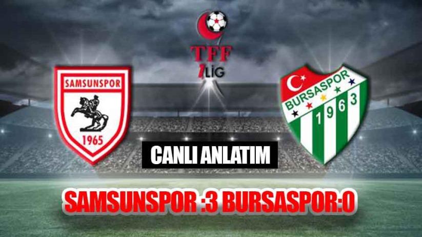 Samsunspor: 3 Bursaspor:0