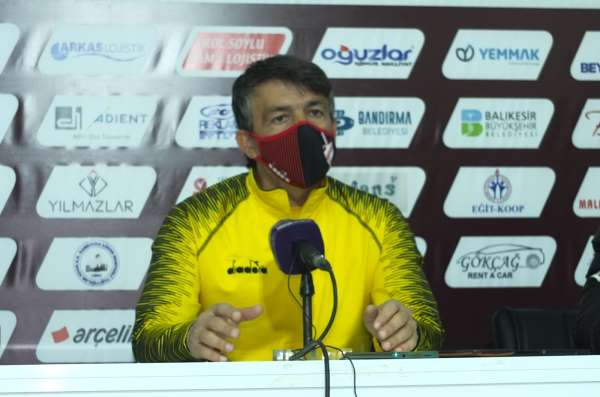 Erginer: Ligdeki rahat iki takımın mücadelesi oldu