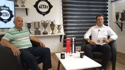 Ayfer Elmastaşoğlu: 'Altay'ın yeri Süper Lig'