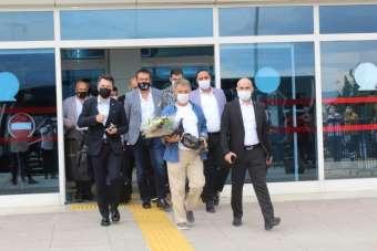 Beşiktaş kafilesi Denizli'ye geldi