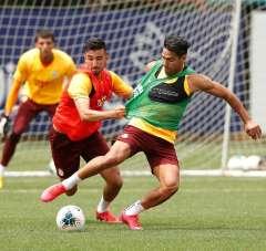 Galatasaray, Gaziantep FK maçı hazırlıklarını sürdürdü