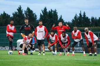 Gaziantep FK, Galatasaray hazırlıklarını sürdürüyor